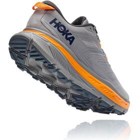 Hoka One One Stinson ATR 6 Running Shoes Men frost gray/bright marigold